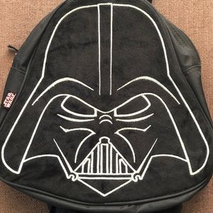 Disney Small Star Wars Darth Vader Black Back Pack